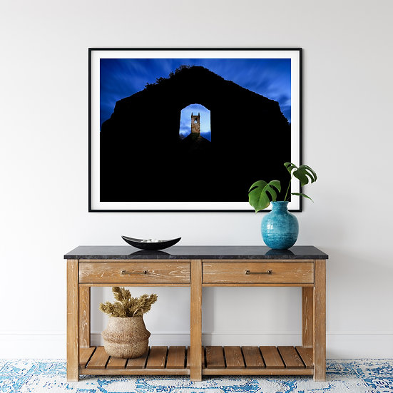 Ballyclog Old Church Print