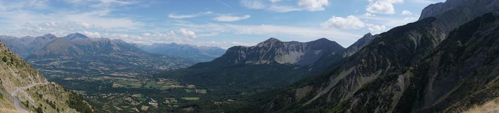 Photo prise au Col du Noyer