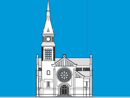 Modélisation 3D de l'Eglise de Chaulnes pour le Cabinet d'architecte Brassart Architectes