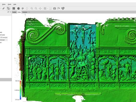 Photogrammétrie intérieure : modélisation 3D Numérique