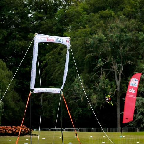 Photo des qualification de drone racer à Forges-les-Eaux 2019