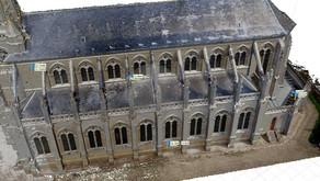 Photogrammétrie de l'église de Long dans la Somme