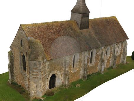 Photogrammétrie Intérieure et extérieure et modélisation 3D de l'Eglise de Vitotel
