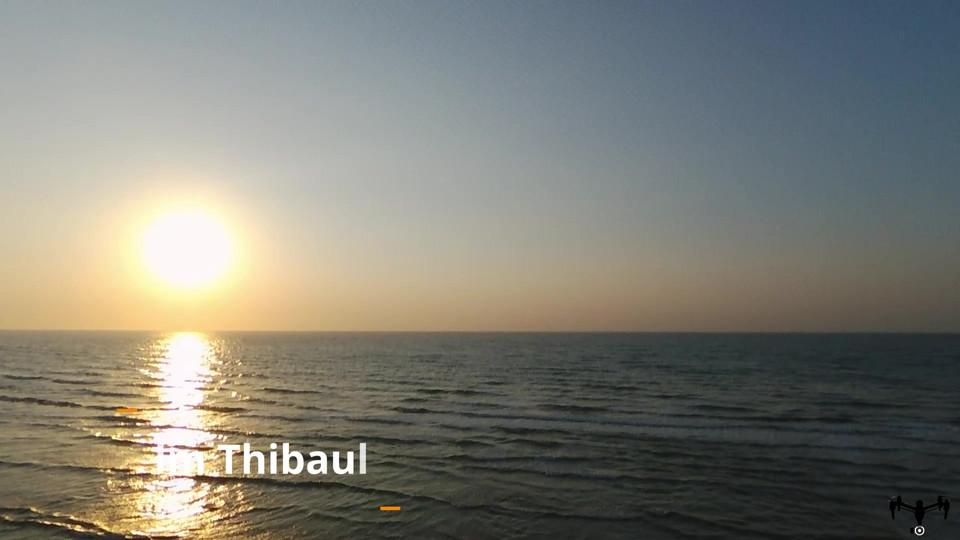 Vidéo prise par drone à Dieppe