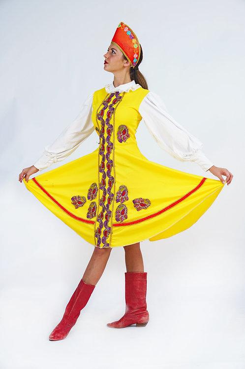 רוסי רן צהוב