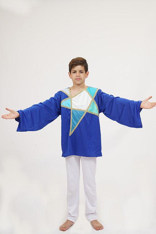 מגן דוד כחול ילדים