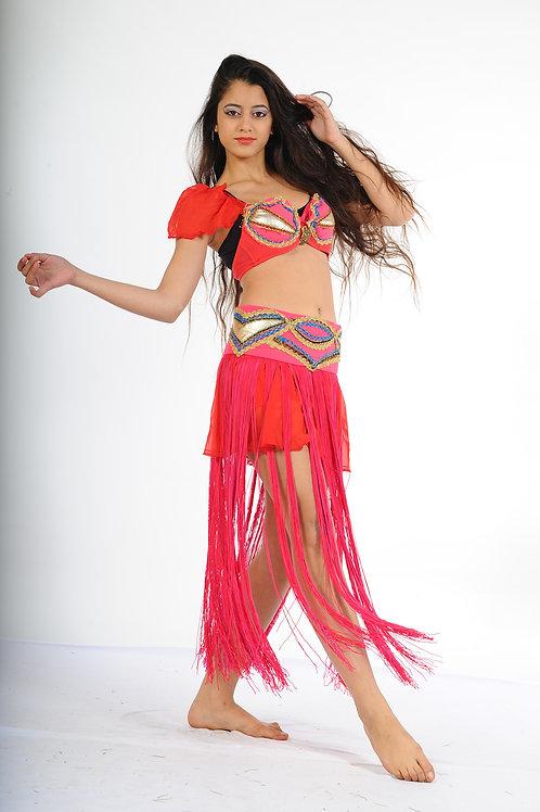 רקדנית בטן אדום