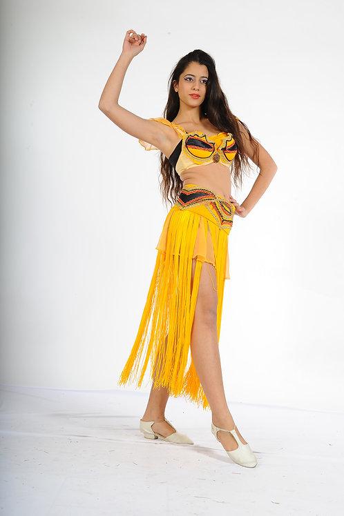 רקדנית בטן צהוב