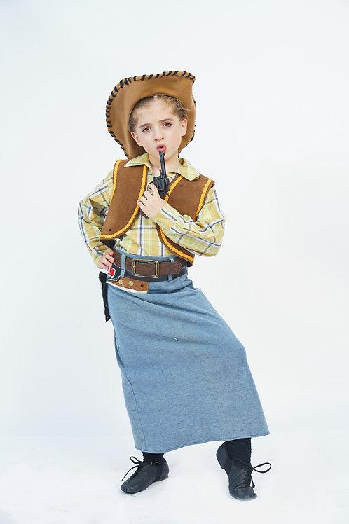 קאו גירל (בוקרת) ילדה
