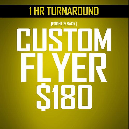 ***2 hr Turnaround *** Flyer 2-Sided Design