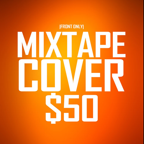 Mixtape Cover 1-Sided Design