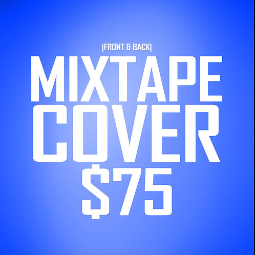 Mixtape Cover 2-Sided Design
