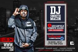 Dj Booking info Club flyer