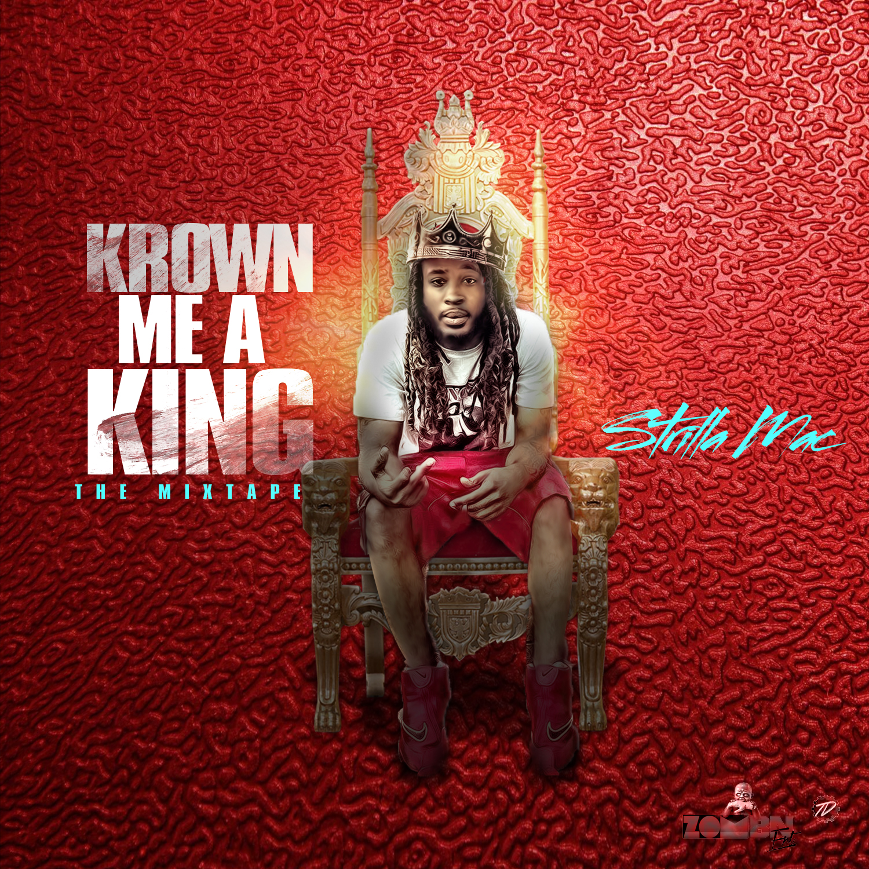 Krown Me a King Mixtape Cover Artwor