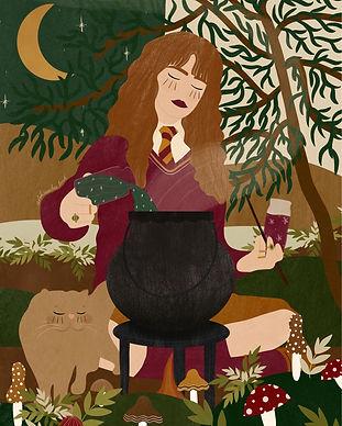 Hermione & Polyjuice Potion