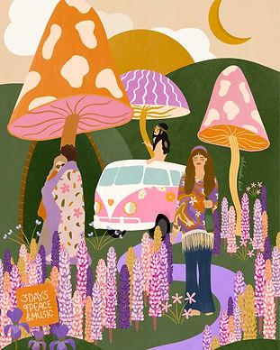 1969 Woodstock Aleksandra Birch