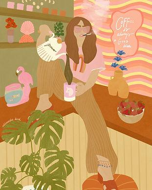 Coffee Lover by Aleksandra Birch