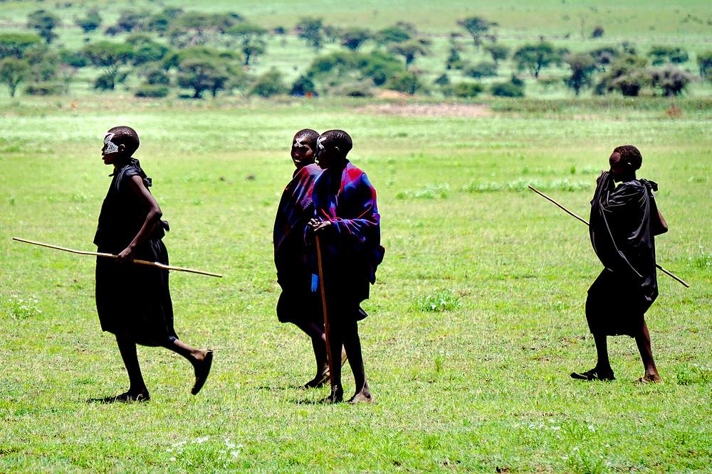 Masai boys