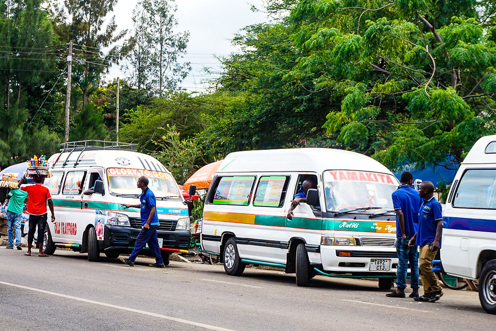 dala dala buses