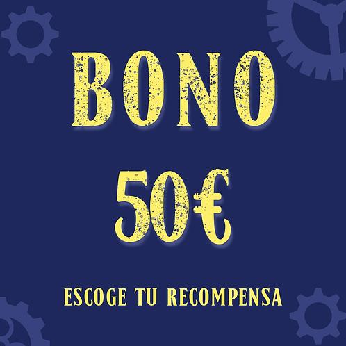 Bono 50€ (+2,25€ de gastos de gestión)