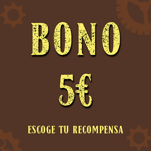 Bono 5€ (+0,75€ de gastos de gestión online)