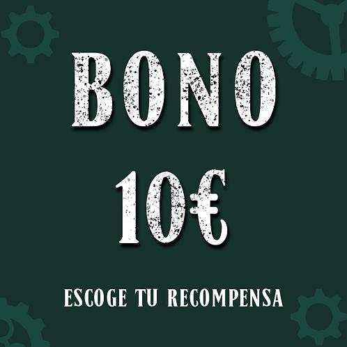Bono 10€ (+0,9€ de gastos de gestión)