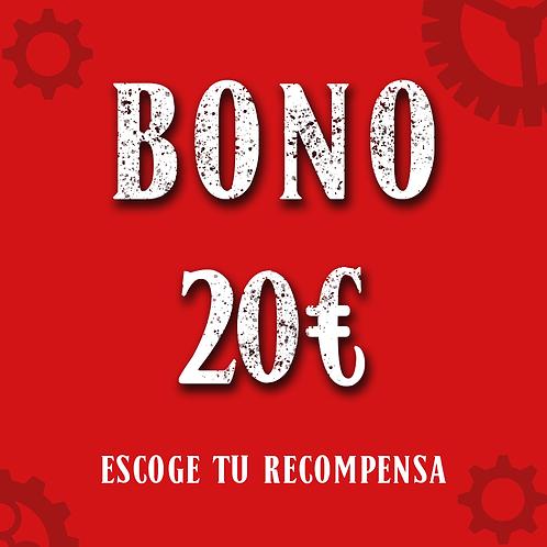 Bono 20€ (+1'25€ de gastos de gestión)