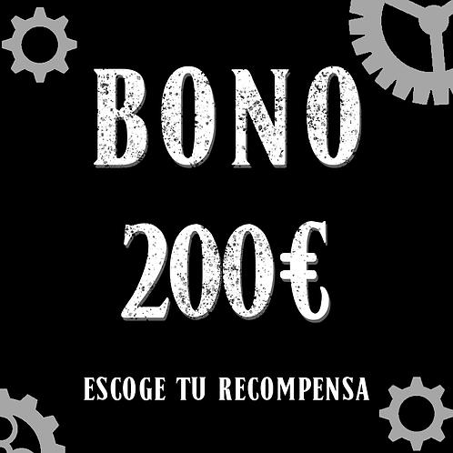 Bono 200€ (+6,80 de gastos de gestión)