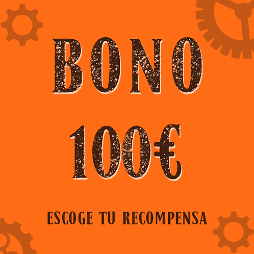 Bono 100€ (+3,75€ de gastos de gestión)