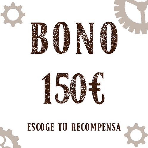 Bono 150€ (+5,25€ de gastos de gestión)