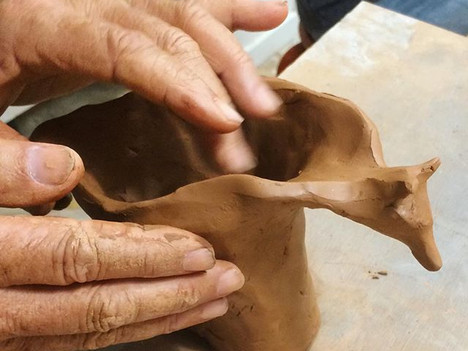 Arthur, working magic with clay ✨ _premi