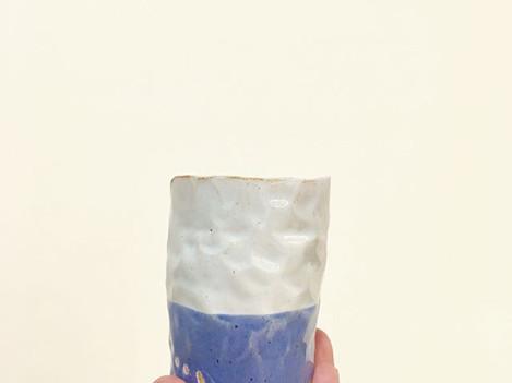 Blue mood 💧_____#ceramicstudio #ceramic