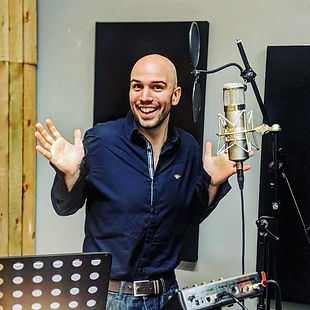 Recording at Magpie Studios Kent