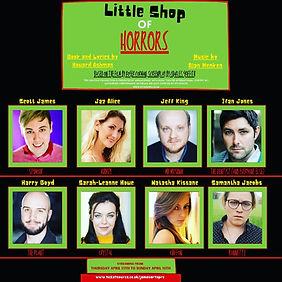 Little Shop of Horrors Cast Poster