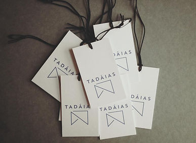 Tadaias, Tadaias Swing Tags, Logo