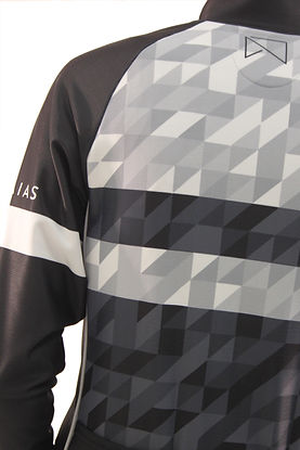 tadaias Winter Cycling Jacket, Pattern, Black & White