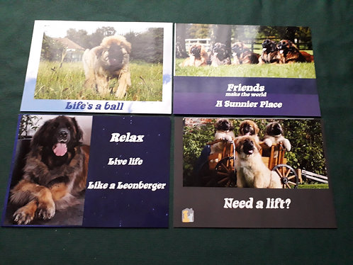 Pack of 4 Post Cards