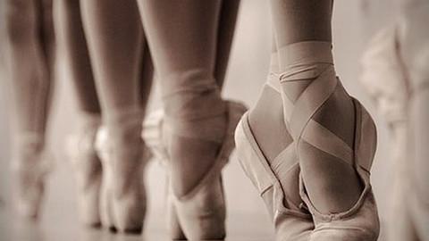 Um sonho: subir na sapatilha de ponta!