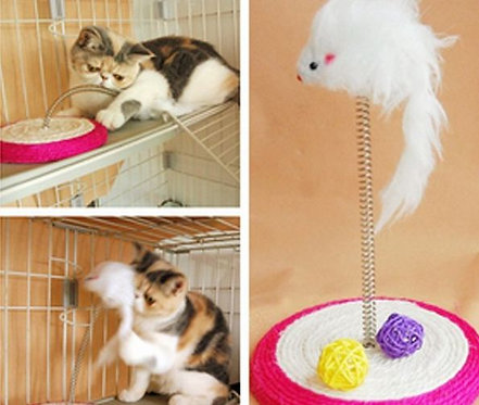 Small cat scratch board toy. FREE SHIPPING!