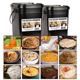 4 Week Emergency Food Supply (2,000+ calories/day)
