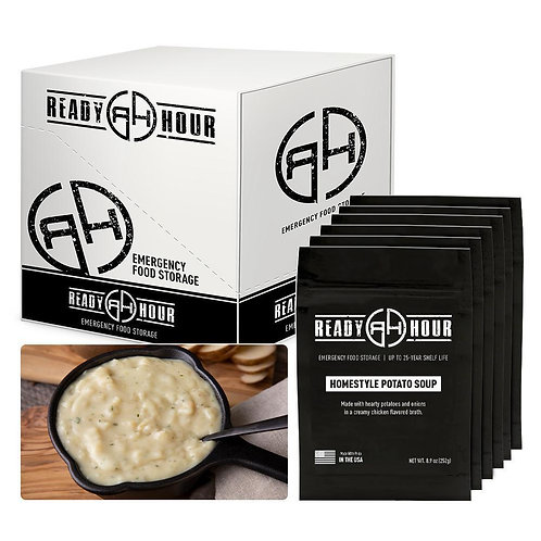 Ready Hour Homestyle Potato Soup Case Pack (24 servings, 6 pk.)