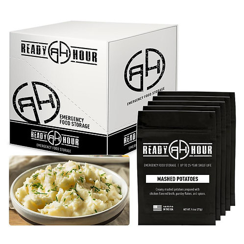 Ready Hour Mashed Potatoes Case Pack (40 servings, 5 pk.)
