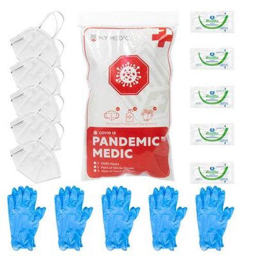 The Pandemic Medic MedPack With KN95 Mask's