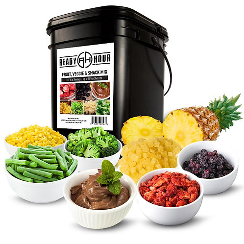 Ready Hour Fruit, Veggie & Snack Mix (116 servings)