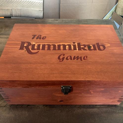 Wood Carving - CUSTOM MADE RUMMIKUB GAME SET