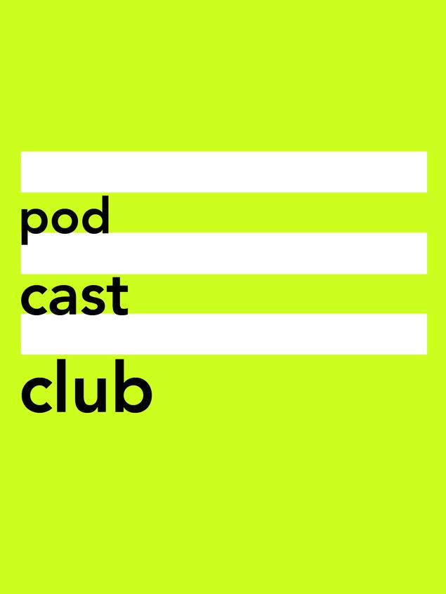 Podcastclub is een soort boekenclub, maar dan voor podcasts.    Samen met een onwijs leuke redactie organiseer en produceer ik avonden voor podcastfans, makers en bingeluisteraars. Makers van (verhalende) podcasts worden geïnterviewd over hun creatie. De avonden worden opgenomen en als podcast gepubliceerd.