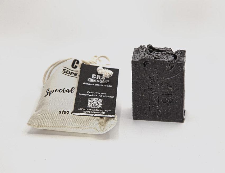 Doğal sabun Afrika siyah sabun