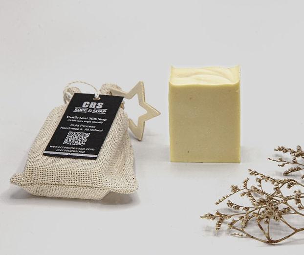 Keçi sütlü doğal sabun
