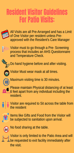Outdoor Visit Guidelines