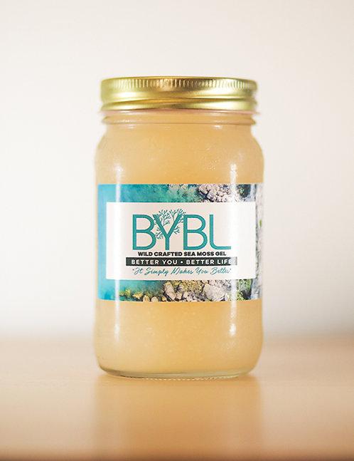 Pure Classic Wild Crafted Sea Moss Gel (16 oz. Jar)